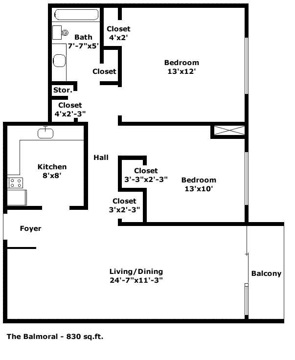 Balmoral Floorplan