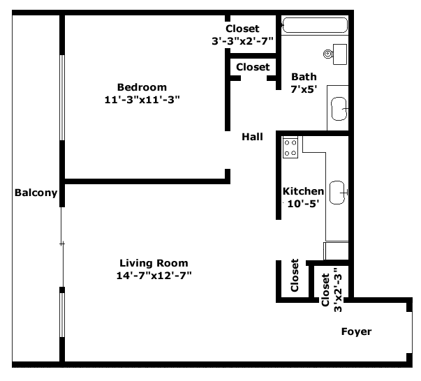 Kensington Floorplan