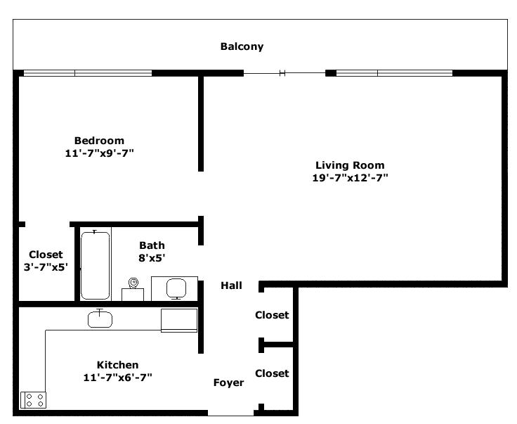 Metropolitan Floorplan