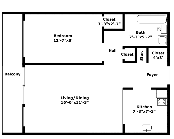 Aristocrat Floorplan