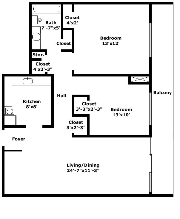 Astoria Floorplan