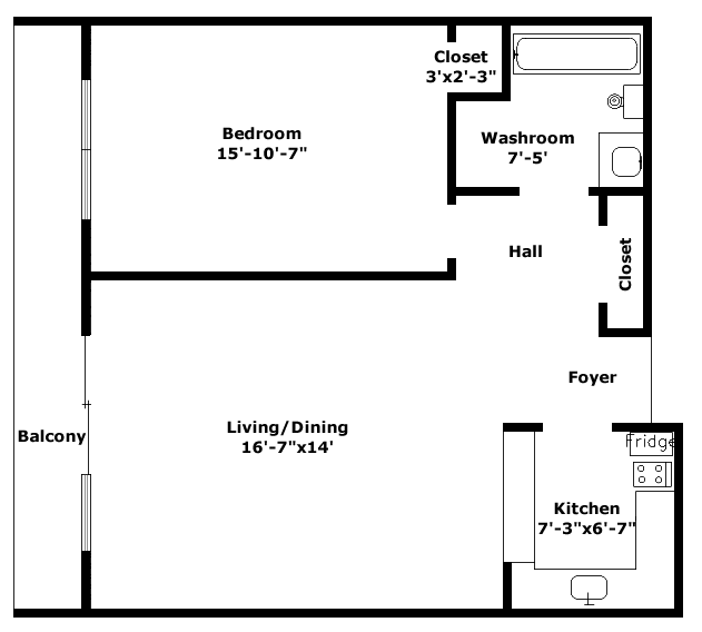 Lexington Floorplan