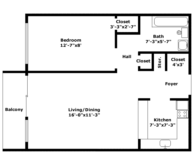 Windsor Floorplan